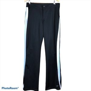 NIKE striped lined mesh track pants